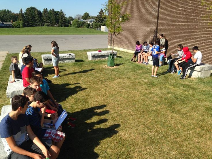 Collaborating in the FR outdoor classroom