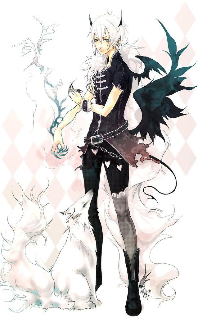 Pin on anime - Anime boy dragon ...