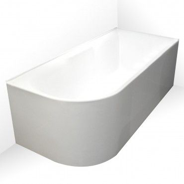 Aqua Freestanding Corner Bath LHS 1700mm