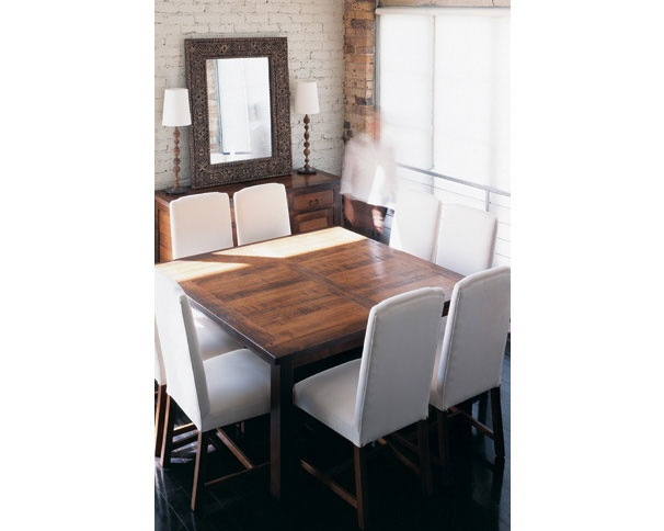 dining table - possible white chairs