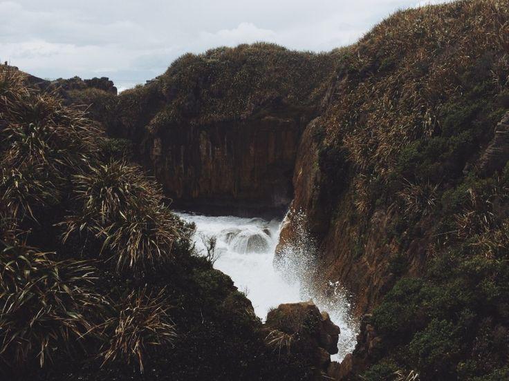 Pancake Rocks // Punakaki , NZ