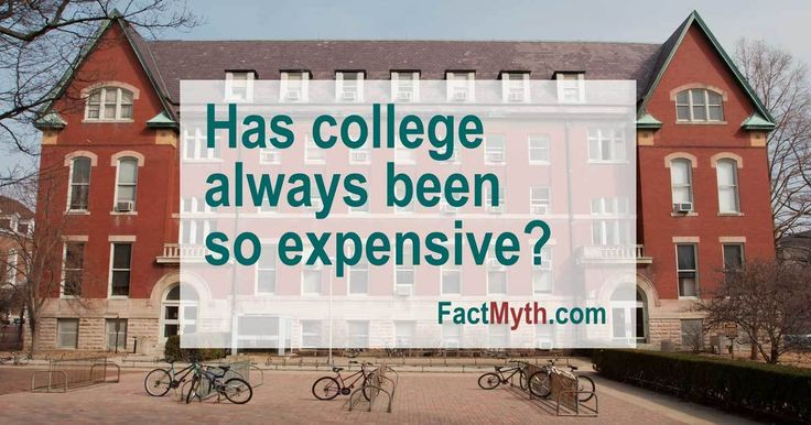 U.S. Universities Have Always Charged Tuition - Fact or Myth? http://factmyth.com/factoids/us-universities-have-always-charged-tuition