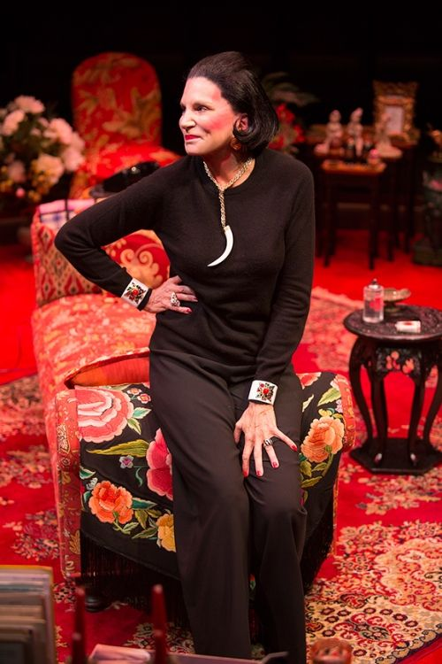 Mercedes Ruehl in Full Gallop play at The Old Globe Theater