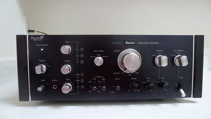 SANSUI AU-9900 SOLID STATE INTEGRATED AMPLIFIER MINT CONDITION WORKS PERFECT #Sansui