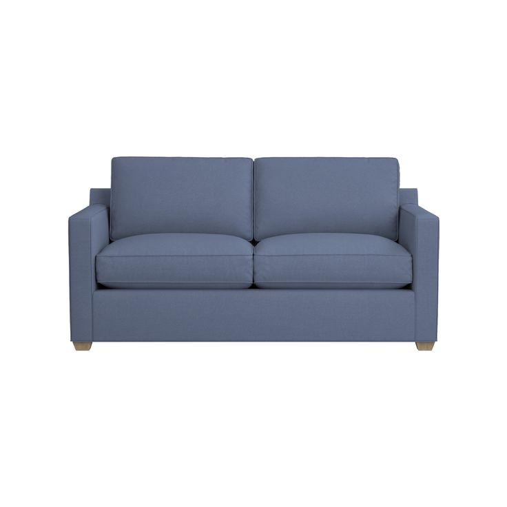 """Shop Davis Full Sleeper Sofa.   Topped with a plush, quilted foam and fiber pad for firm yet plump support, the mattress features oven-tempered """"memory"""" innerspring construction with an allergy-free, odorless and mildew-resistant core."""