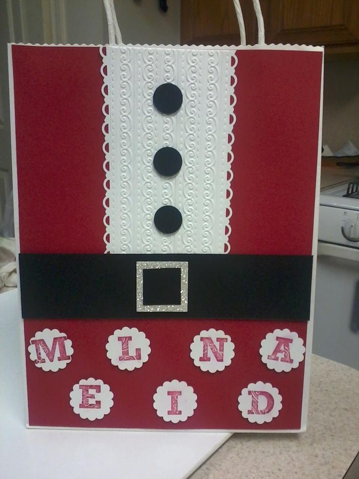 2012 Christmas goodie bag