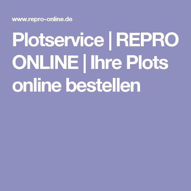 Plotservice | REPRO ONLINE | Ihre Plots online bestellen