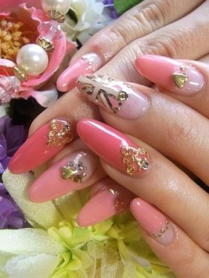 Glam Nail Art Designs for Spring 2012