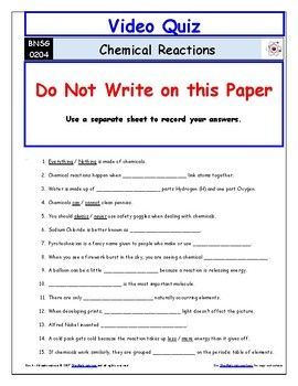 Awesome Collection Of Chemical Reactions Clifying Worksheet further Bill Nye Chemical Reactions Worksheet   Oaklandeffect in addition Bill Nye Sun Video Guide Sheet Seasons  Chemical Reactions And  Bill as well  additionally Bill Nye the Science Guy S02E04 Chemical Reactions   YouTube furthermore Types Of Chemical Reaction Worksheet   holidayfu together with bill nye pressure worksheets – openlayers co besides Bill Nye Evolution Worksheet Answers   Oaklandeffect together with Unled besides  furthermore Bill Nye the Science Guy Energy Worksheet Luxury Bill Nye Chemical additionally bill nye ken ham – Balancing Equations Worksheet moreover Movie Worksheet The Best Worksheets Image Collection Science in addition  furthermore Differentiated Video Worksheet Quiz Ans  for Bill Nye Chemical moreover . on bill nye chemical reactions worksheet