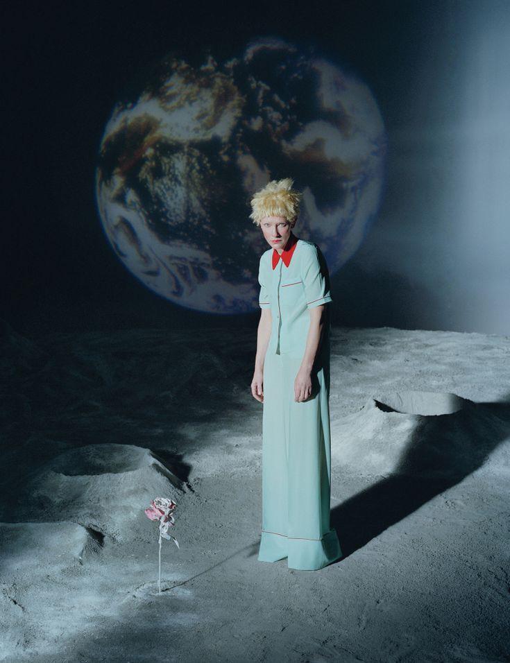 Publication: W Magazine December 2015 Model: Cate Blanchett Photographer: Tim Walker