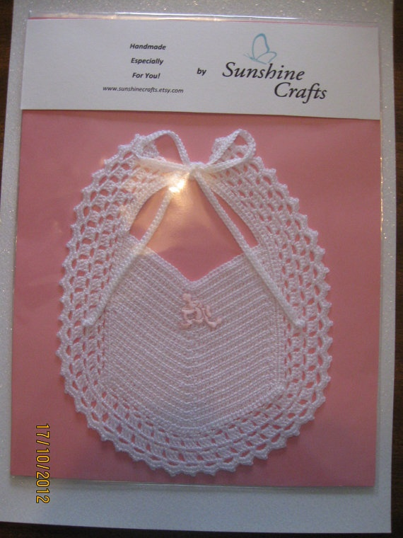 Baby Bib by SunshineCrafts on Etsy, $15.00
