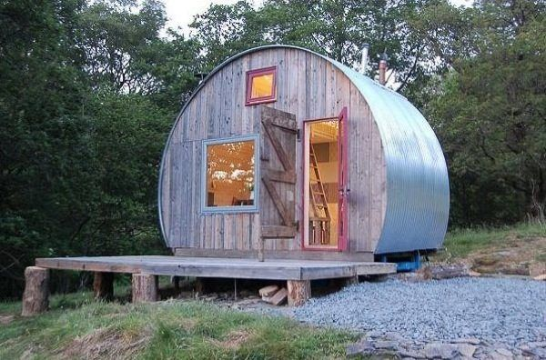 Round Micro Cabin You Can Vacation In Photo