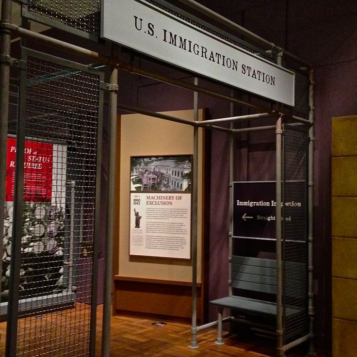 The Federal Bureau of Investigation researched every Chinese immigrant's background to determine if entry could be denied. At immigration centers the Chinese had the burden of proving why they were exempt under the Exclusion Act.  (The New York Historical Society Chinese Exclusion Act Exhibit.)