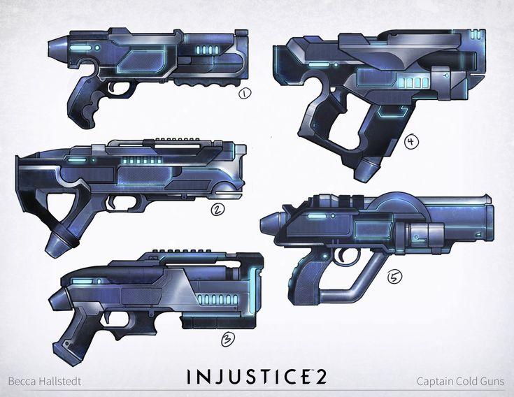 ArtStation - Injustice 2: Atlantis/Black Canary/Captain Cold/Deadshot, Becca Hallstedt