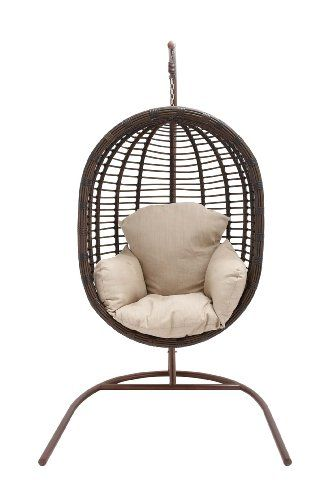 A Relaxing Addition To Your Sunroom Or Patio, This Distinctive Porch Swing  Features A Suspended Rattan Inspired Chair For Distinctive Style.