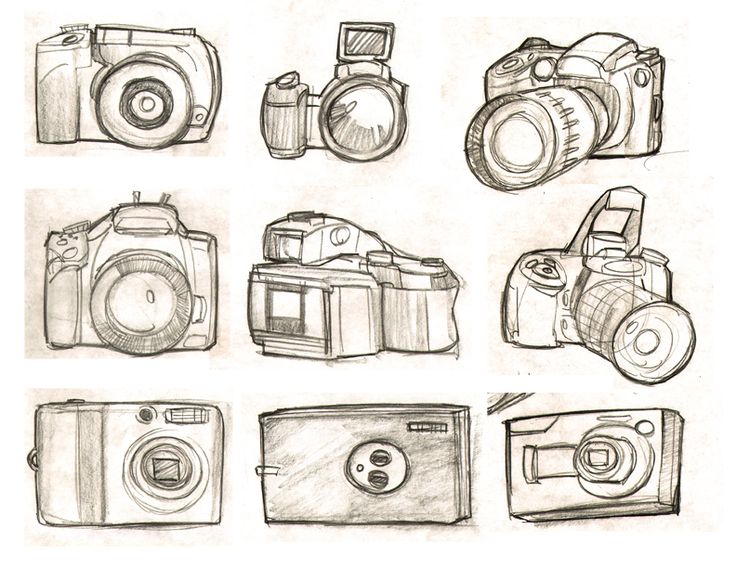 Camera Line Drawing Tattoo : Camera drawings and sketches imgkid the image