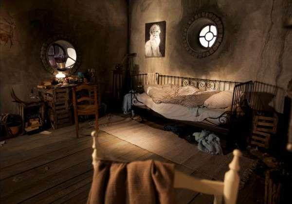 Hobbit Hole Bedroom