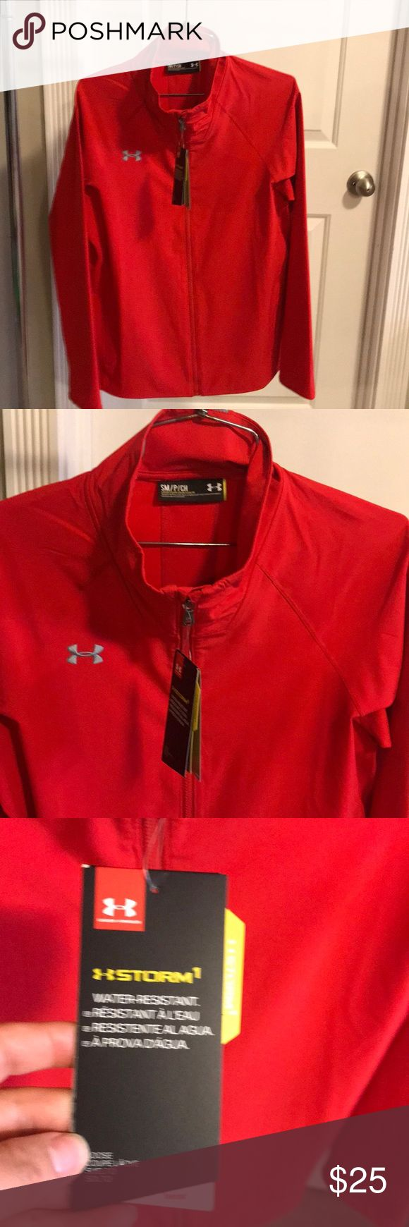 Women's Under Armour Jacket!!! Women's Under Armour weather resistant jacket!!! Brand New💕💕💕 Under Armour Jackets & Coats