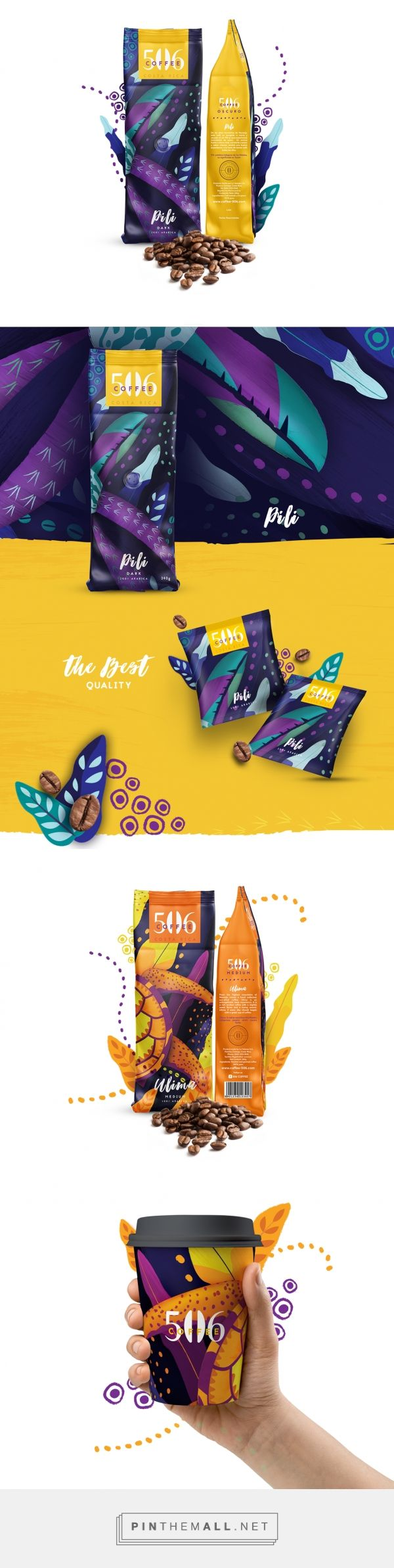 506 Coffee         on          Packaging of the World - Creative Package Design Gallery - created via https://pinthemall.net