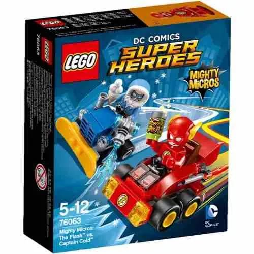 Lego 76063 Mighty Micros Flash Vs Captain Cold - $ 599,99