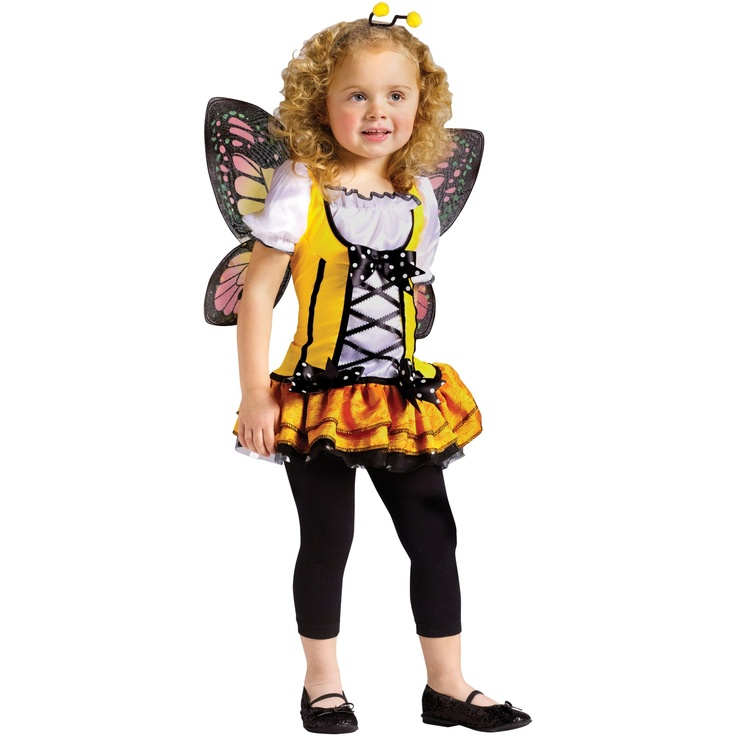 butterfly princess halloween toddler costume idea