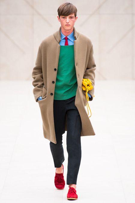 버버리 프로섬 컬렉션 - 2014SS Burberry Prorsum Mens Collection by Christo