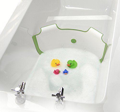 BabyDam Bathwater Barrier (White/Green) Eco Friendly Water Saving Device   Baby, Baby Bathing/Grooming, Baby Baths   eBay!