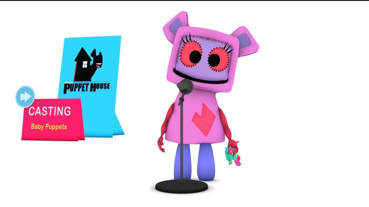"My #Animation for the ""Puppet House"" Casting videos"