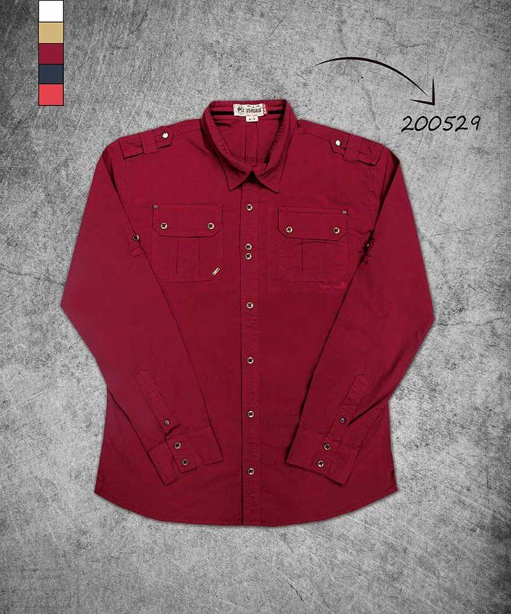 camisa-hombre-manga-larga-color-vinotinto-shirt-man-long-sleeve--wine-color-200529