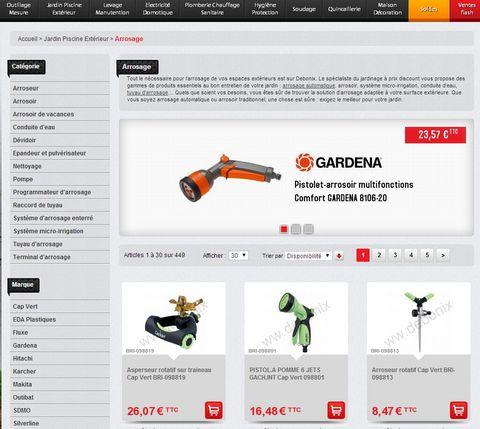 Site E-commerce pas cher