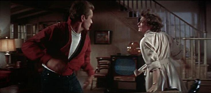 "James Dean, Ann Doran - ""Rebel Without A Cause"" 1955"