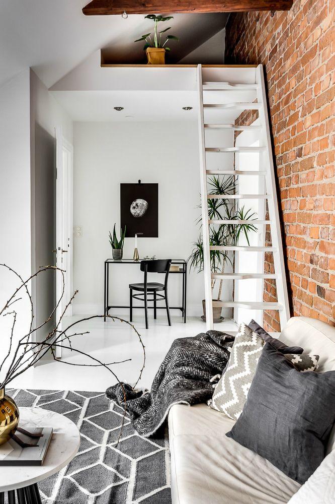 Wood and Light Creates a Wonderful Interior  modern Scandinavian attic interior  design 10. 17 Best ideas about Scandinavian Interior Design on Pinterest
