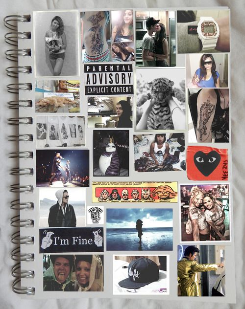scrapbook cover to my life