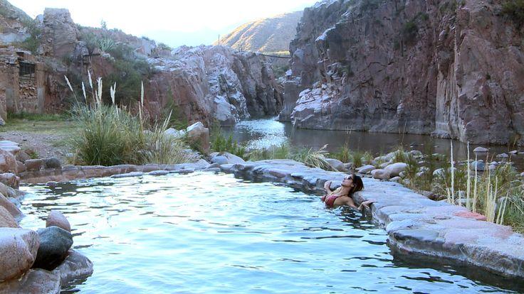 Cacheuta, #Mendoza.  #ArgentinaEsTuMundo #relax #Termas #water #mountain  Más info en: www.facebook.com/viajaportupais