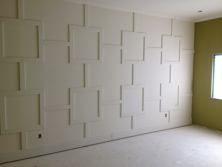 could diy this wall treatment home decor pinterest