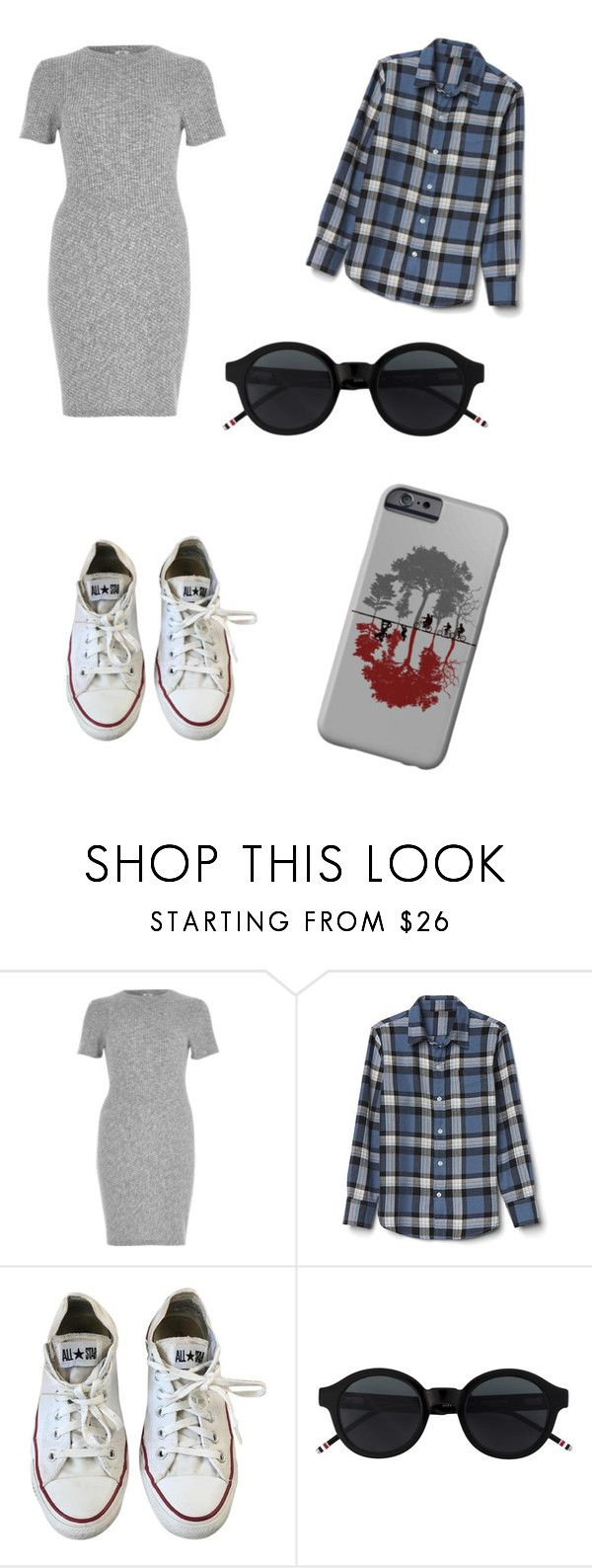 """""""No name#44"""" by kyley-mays on Polyvore featuring River Island and Converse"""