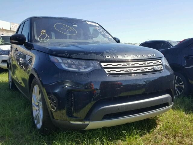 Salvage 2017 Land Rover Discovery Hse Td6 Suv For Sale | Certificate Of Destruction Title