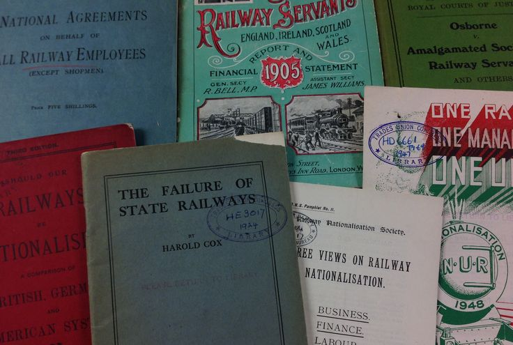 'A collection of pamphlets and articles about Railway Industry, 1900s- 1940s.