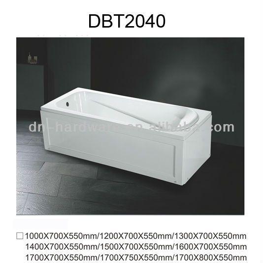 DBT2040 Cheap Small Acrylic Bathtub Price $27~$35