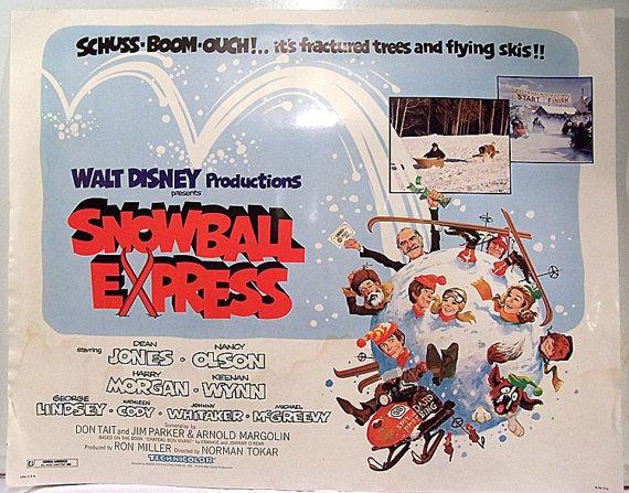 ORIG Walt Disney's Snowball Express Dean Jones by OldStuffDontSuck, $29.99