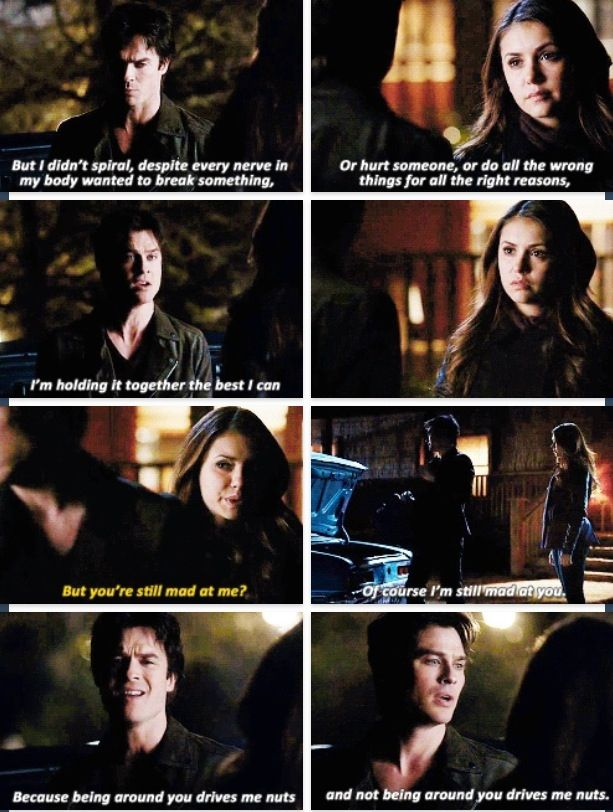 TVD 5x20 | It was so hard to hear them talk to each other this way. Katherine said so many horrible things to him but it wasnt Elena. I do not want them to be apart.