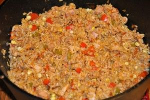DSC 1861-300x199 in Italian Chicken Jambalaya Big Green Egg recipe from Tony Hall in MO and big-green-egg-recipes-contest