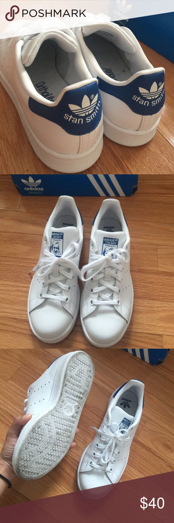 Stan Smith Shoes Lightly worn. Adidas Stan Smith Shoes (Kids sizing) Adidas Shoes Sneakers