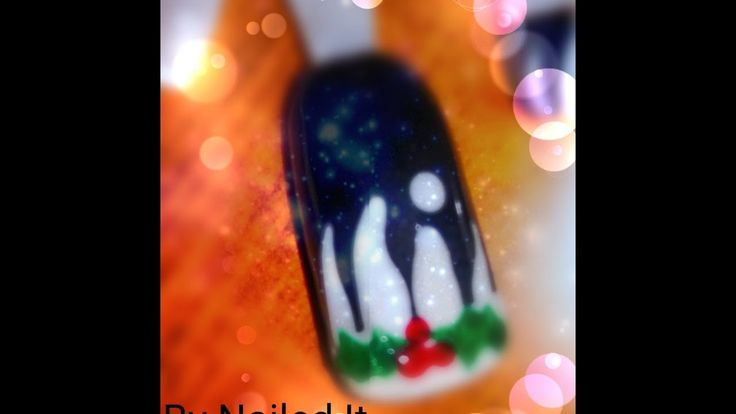 Christmas Nails (Nailed It) | Easy Winter Nails Tutorial