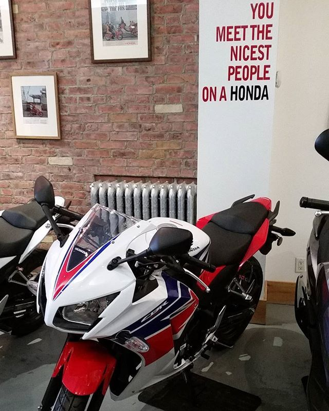 The writing's on the wall!  #RideRed #cbr300r