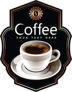 All Free Vector: Coffe Label vector
