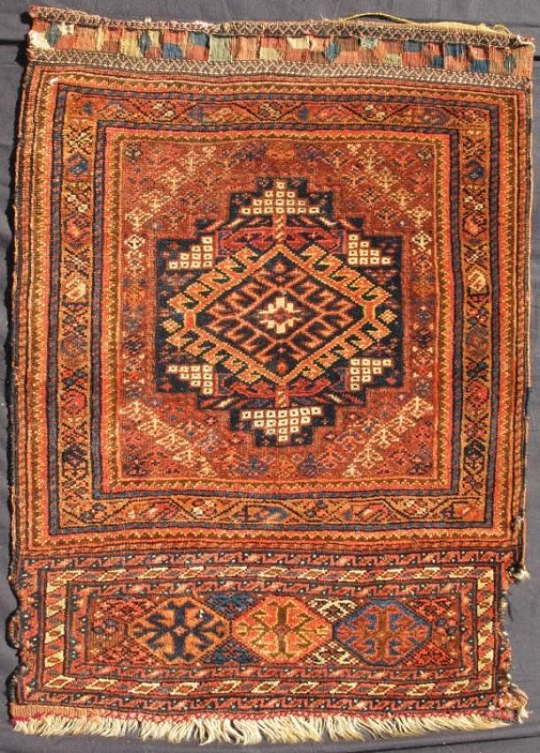 "KEIVAN WOVEN ARTS, Type : Qashqai Origin : Iran Size : 2'0""x3'0"" Circa : 1880"