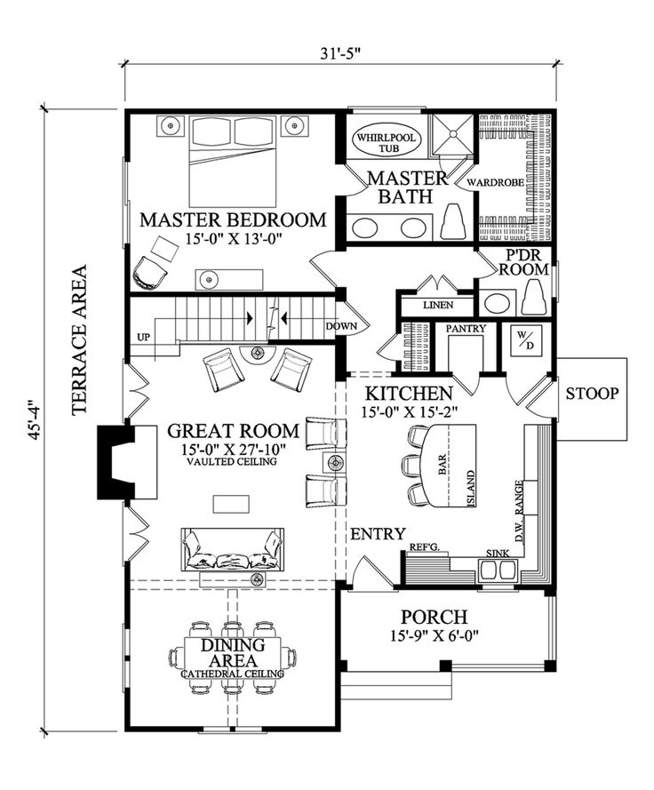Best 25+ Cottage style house plans ideas on Pinterest | Small ...