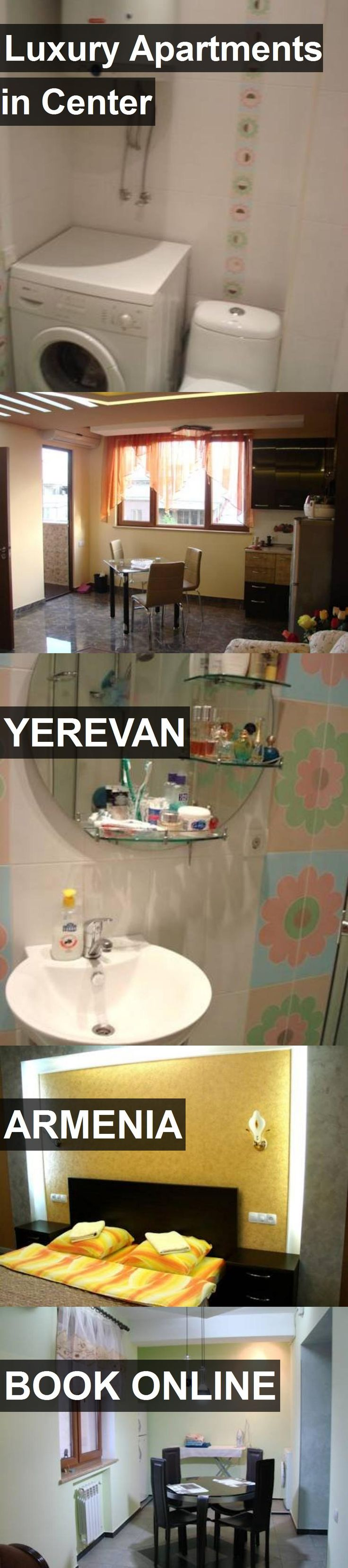 Luxury Apartments in Center in Yerevan, Armenia. For more information, photos, reviews and best prices please follow the link. #Armenia #Yerevan #travel #vacation #apartment