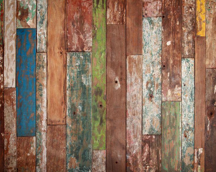 Wall Mural – Weathered Wood